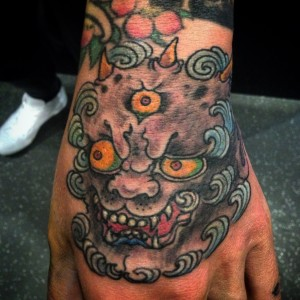 Hand Tattoo by Sieto